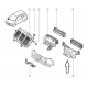 Renault Twingo - Deflecteur de ventilation interieur origine Renault