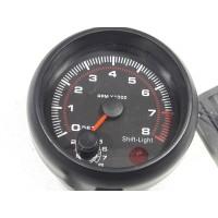 Compte tours 12V Diamétre 95cm avec support pour 4,6 et 8 Cylindre