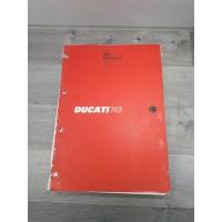 Ducati 749 749S 749DARK / 2006 - Manuel d Atelier Espagnol / Portugais