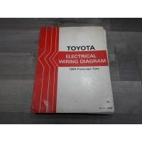 Toyota automobile 1982 - Catalogue manuel shema cablage electrique