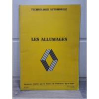 Renault Circuit Allumage - 1977 - Fascicule technique et formation