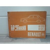 Renault R12 1970 a 1972 - Catalogue pieces PR907
