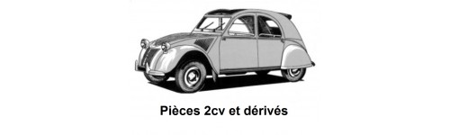Citroen 2cv et dérivés